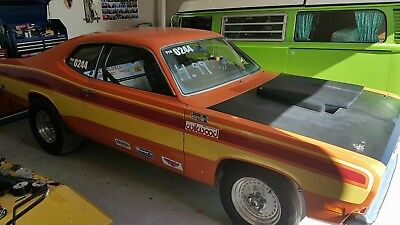 Plymouth: Duster Plymouth Duster - Well Known Local Drag Car - Original 340, Plum Crazy Purple