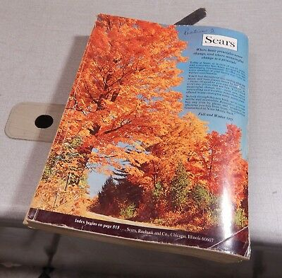 Vintage 1971 Sears Roebuck  Fall Winter Catalog
