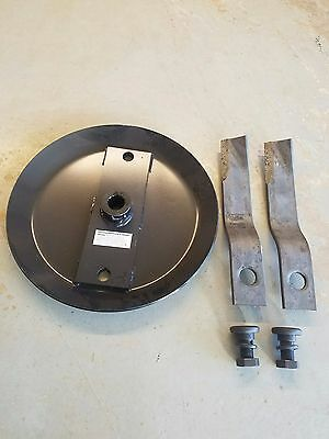 Stump Jumper Blade Pan With 4 Ft. Rotary Cutter Blades And Bb55 Blade Bolts