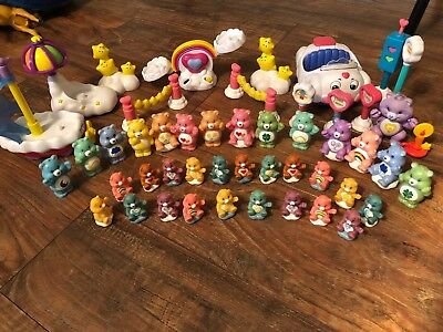 Huge Lot Of Care Bears And Playsets