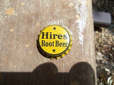 Hires unused cork lined soda bottle cap