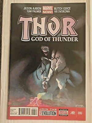 Thor God Of Thunder #6 1st Appearance Knull Symbiote God Venom #3 4 Tie-in Cates