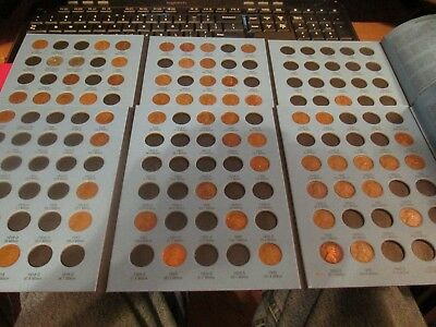 1909-1974 Lincoln cent collection Super Awesome Starter Set Nice coins Many MM's