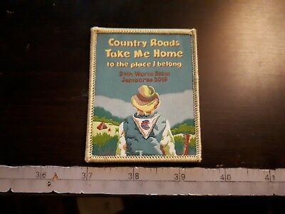 Country Roads WSJ19 Fundraiser Badge Patch Scout Jamboree