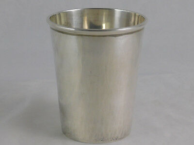 Rare Handwrought Sterling Cup William L deMatteo James Geddy Julep Form Virginia