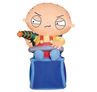 Gemmy Airblown Inflatable Family Guy 3 ft tall   STEWIE    cute  NIB  LAST ONE