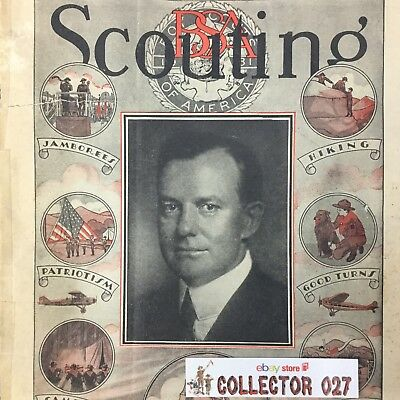 Boy Scout Scouting Magazine May 1931 Walter Head BSA President