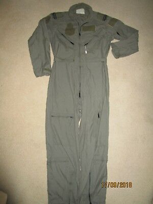 "TOP GUN NOMEX FLIGHT SUIT , size 100r /40 "" chest, used in great condition."