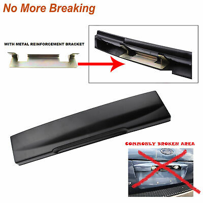 For Ford Explorer New 02 Tailgate License Plate Shield Handle Metal Bracket Rear