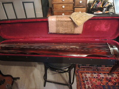 7-stringed Professional  48 inches long Aged Chinese Fir Guqin Zither