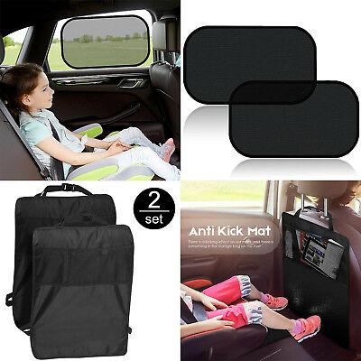 For Children Babies Kick Mat from Mud Dirt Car Seat Back Protector Car Sun Shade