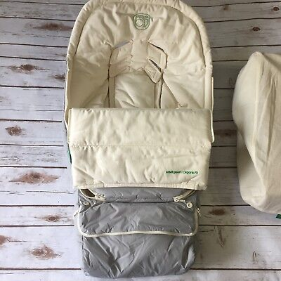 NEW Orbit Baby Green Edition Footmuff Small Biege & Gray