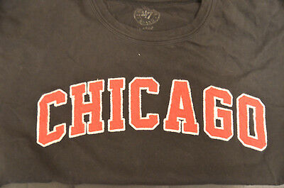 Chicago Blackhawks NHL Hockey T-Shirt Adult Large (L) Black