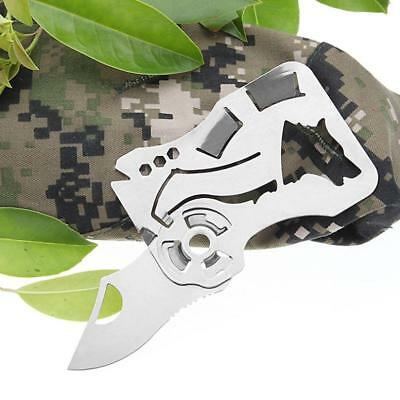 Mini Multi Tool Kit Functional Knife 9 in 1 Knife Survival Camping Outdoor Kits