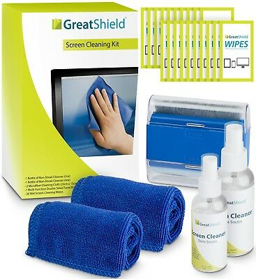Screen Cleaning Kit LED LCD Electronic Cleaner with Microfiber Cloth Bundle Set