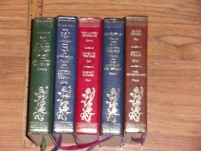 Romance Treasury - Lot of 5 Hardcover Decorative Books - Staging or Reading