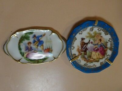 LIMOGES.Vintage collection of miniature pieces