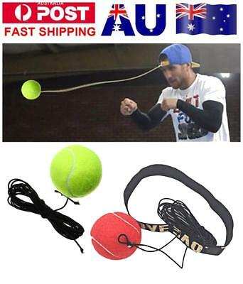 Bouncy Ball Fight Elastic Ball Boxing Equipment with Head Band for Reaction
