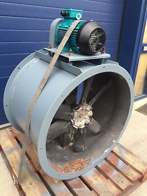spray booth extractor fan With New Motor