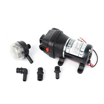 DC 12V Electric High Pressure Water Pump 12.5L/min Flow Diaphragm Pump PSI 35
