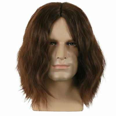 2018 New The Avengers Winter Soldier Bucky Barnes Brown Wig Halloween Props USA