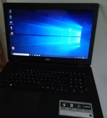 "Notebook 17,3"" Acer Aspire ES1, Quadcore, WIN 10 Home, RAM 4GB, SSD 256GB NEU"