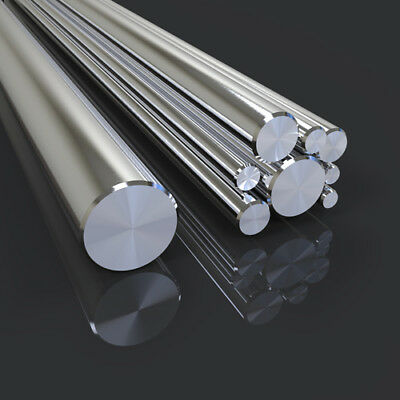 Aluminium Round Bar - 5mm to 100mm Diameters and all lengths
