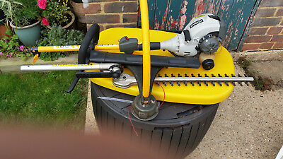 Ryobi expand it petrol strimmer hedge cutter attachment