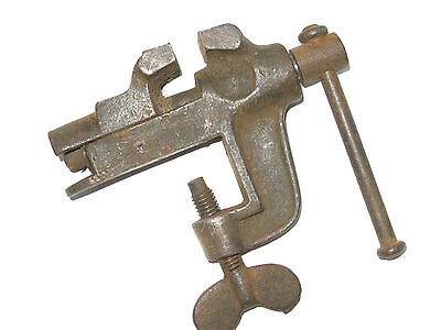 Vintage Miniature Vice (Clamp-On)