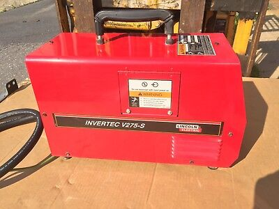 Lincoln Invertec 275S Tig And Stick Welder Complete Package Perfect Condition