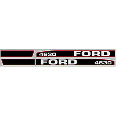 4630 Ford Tractor Hood Decal Kit 4630 High Quality Long Lasting Oem Style Decals