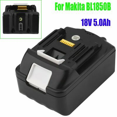 18V 5.0Ah Lithium Ion Battery LXT For Makita BL1840 BL1830 BL1835 BL1815 BL1850