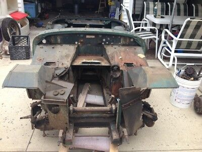 1972 MG MGB Midget Great project car for the right person! I ran out of money and time