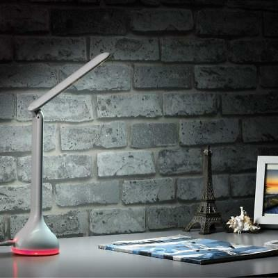 LED Dimmable Desk Lamp Touch-Sensitive Control Book Reading Light Rechargeable C