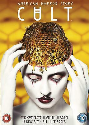 AMERICAN HORROR STORY: CULT Stagione 7 Serie Completa BOX 4 DVD in Inglese Nuovo