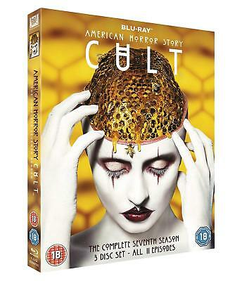 AMERICAN HORROR STORY: CULT Stagione 7 Completa BOX 3 BLURAY in Inglese Nuovo