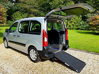2010 Peugeot Partner 1.6 16v Tepee Wheelchair Accessible Vehicle