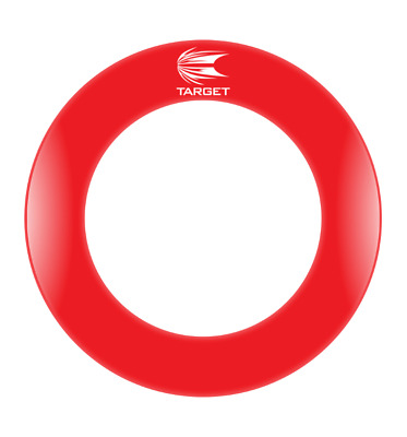 "TARGET Dartboard Surround Pro Tour ""RED"" printed, Catch,Catchring,Fangring,Darts"