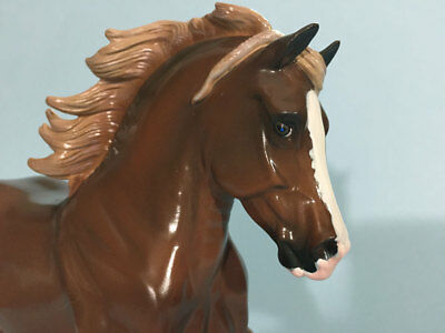 Glossy Copperfox model, RUPERT, only 150 made - second