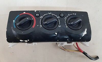 Renault Clio Mk2 01-09 Heater Control Dials Switches With Air Con 8200147160
