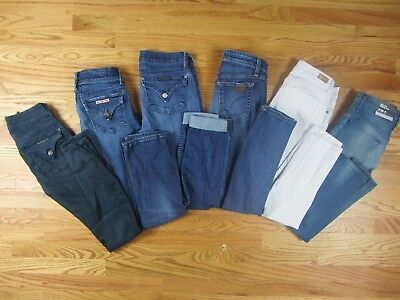 Hudson Joes Paige Mossimo Skinny Boot LOT of 6 Jeans Womans Size 25 0