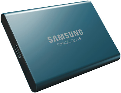 NEW Samsung MU-PA250B/WW 250GB USB 3.1 & Type-C Portable SSD Blue