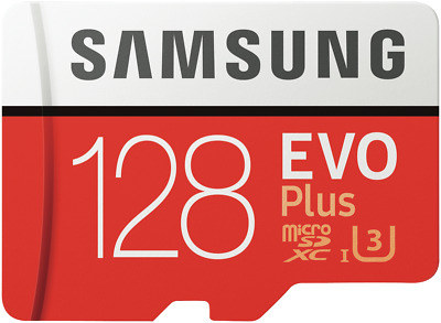 NEW Samsung MB-MC128GA/APC 128GB EvoPlus Micro SDXC Memory Card