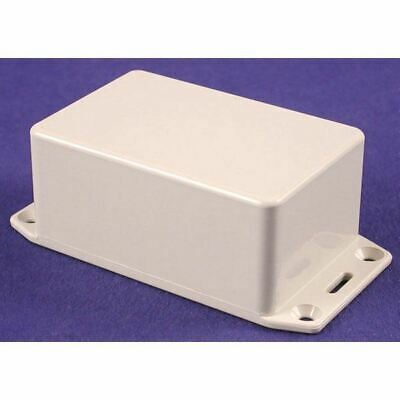 Hammond 1591LFLGY Multipurpose FRABS Enclosure Flanged Lid 85 x 56 x 39 Grey