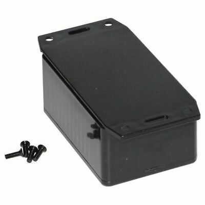 Hammond 1591LF2BK Multipurpose FRABS Enclosure Flange Base 85 x 56 x 39 Black