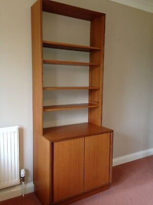 G Plan Wall Unit, Cupboard And Shelving Unit.
