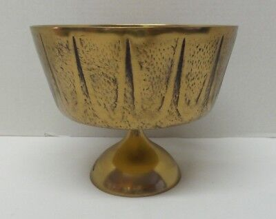 Vintage MCM Bronze Footed Bowl Treasures From the Orient The Broadway