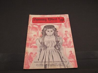 May 1969 SPINNING WHEEL Antiques Magazine : Chinese Cloisenne, Wax Dolls +