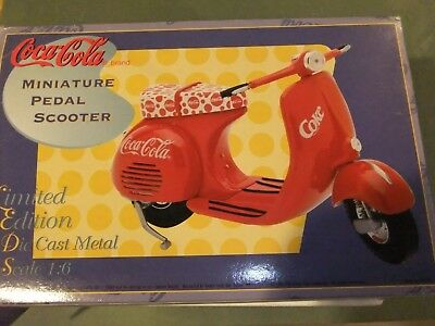 Coca Cola Limited Edition Miniature  Scooter 1:6 Scale