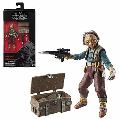 Star Wars The Black Series Episode 8 MAZ KANATA 6-inch Action Figure
